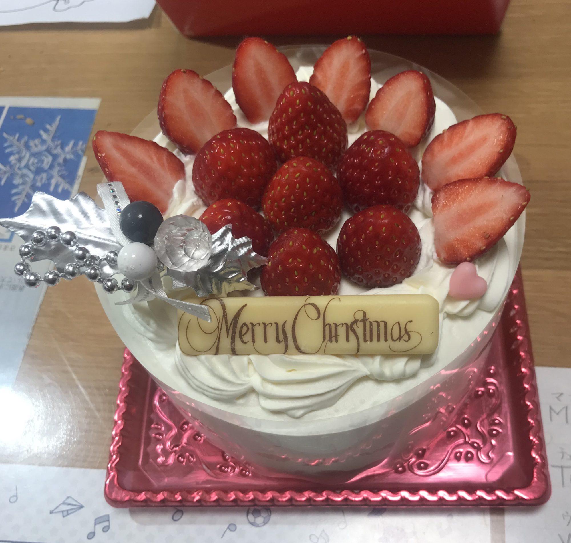 2018年のクリスマスケーキ(4号サイズ)