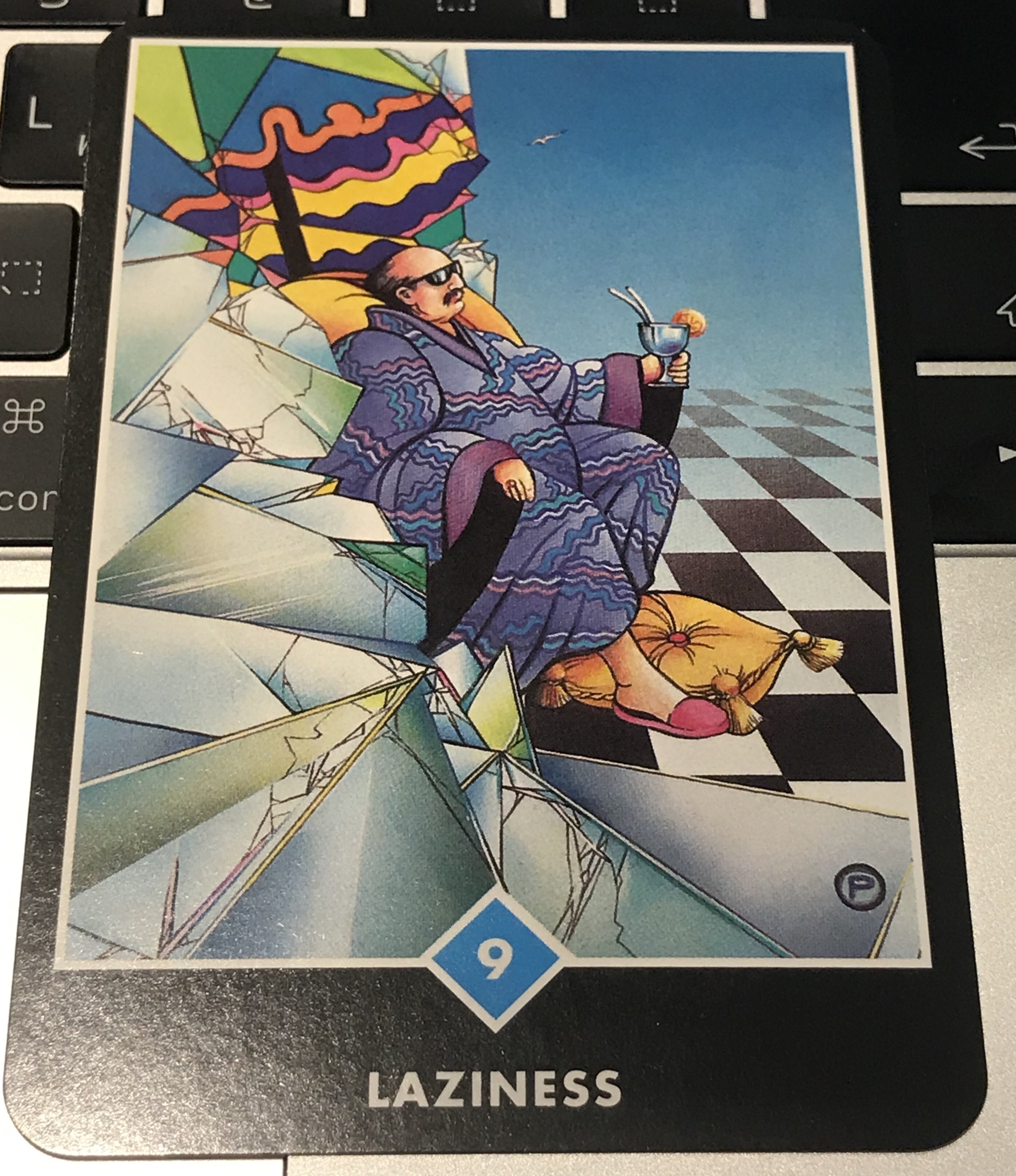 OSHO禅タロット 怠惰のカード