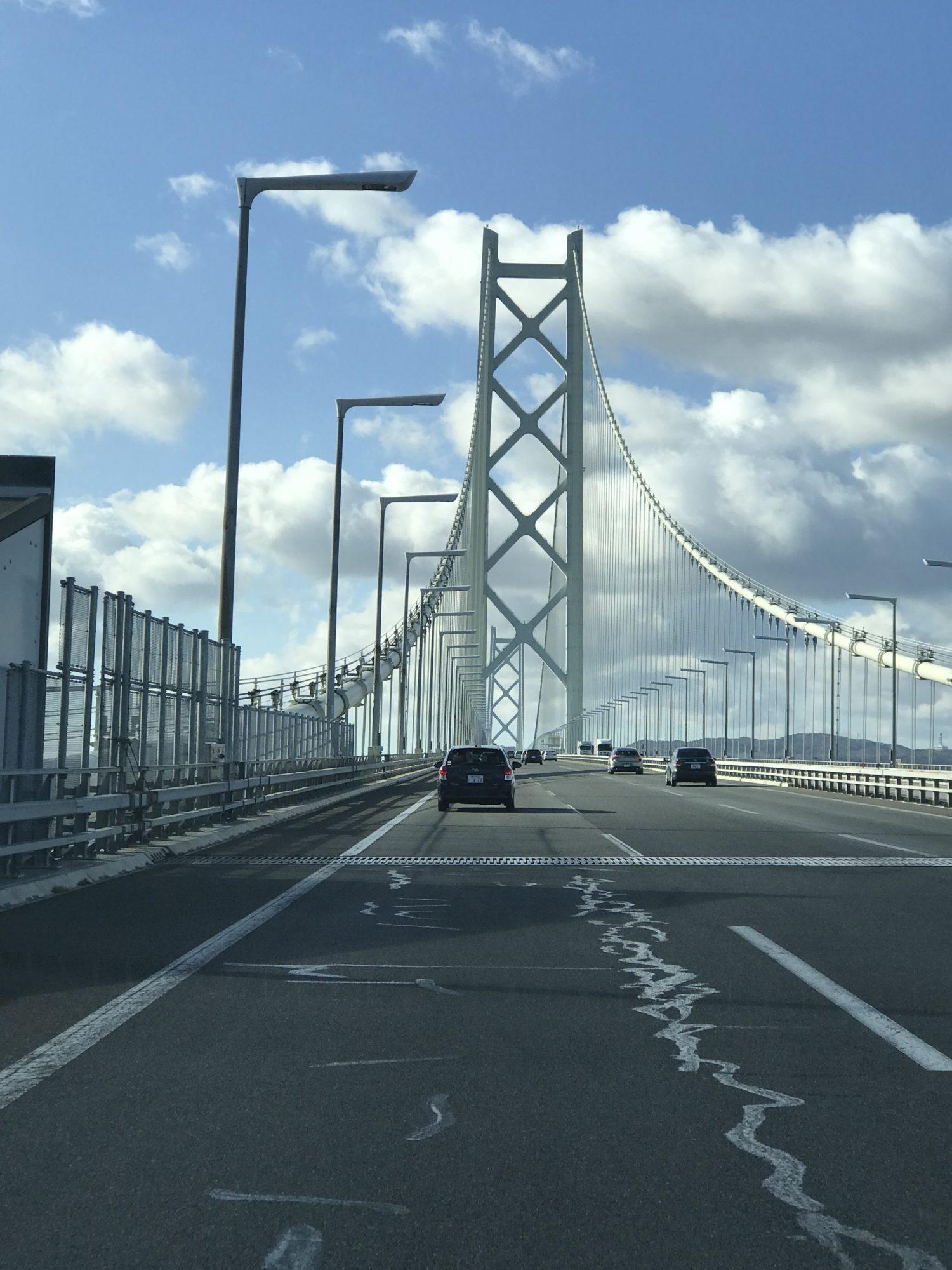 明石海峡大橋を渡る前の大回りに注意!→淡路島縦断→鳴門へ/2018帰省旅行❻