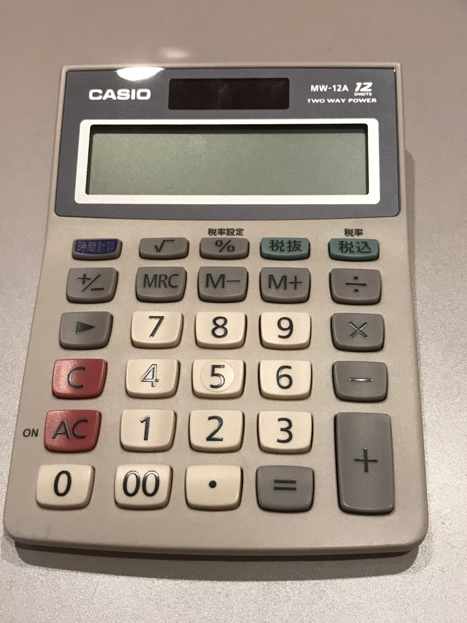 カシオ 新しい電卓