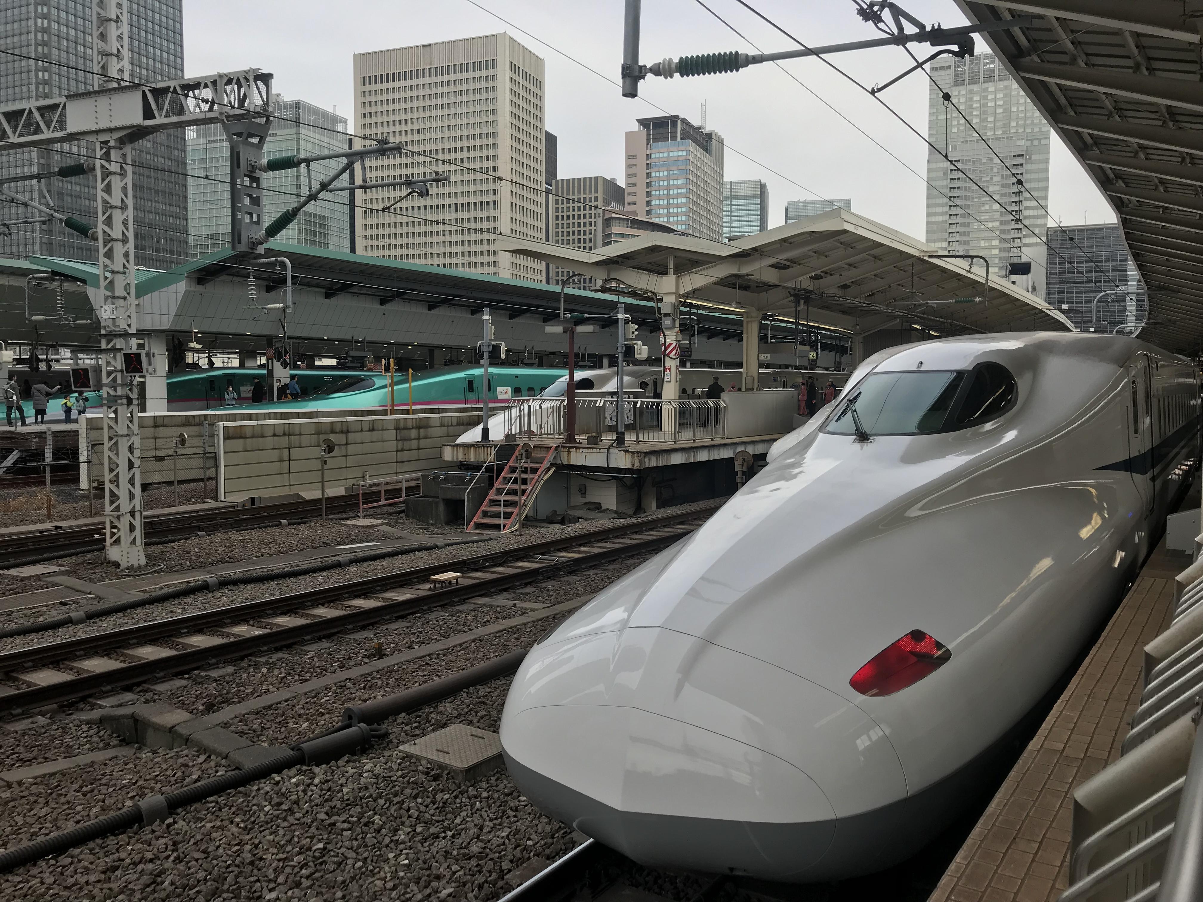 東海道新幹線@東京駅