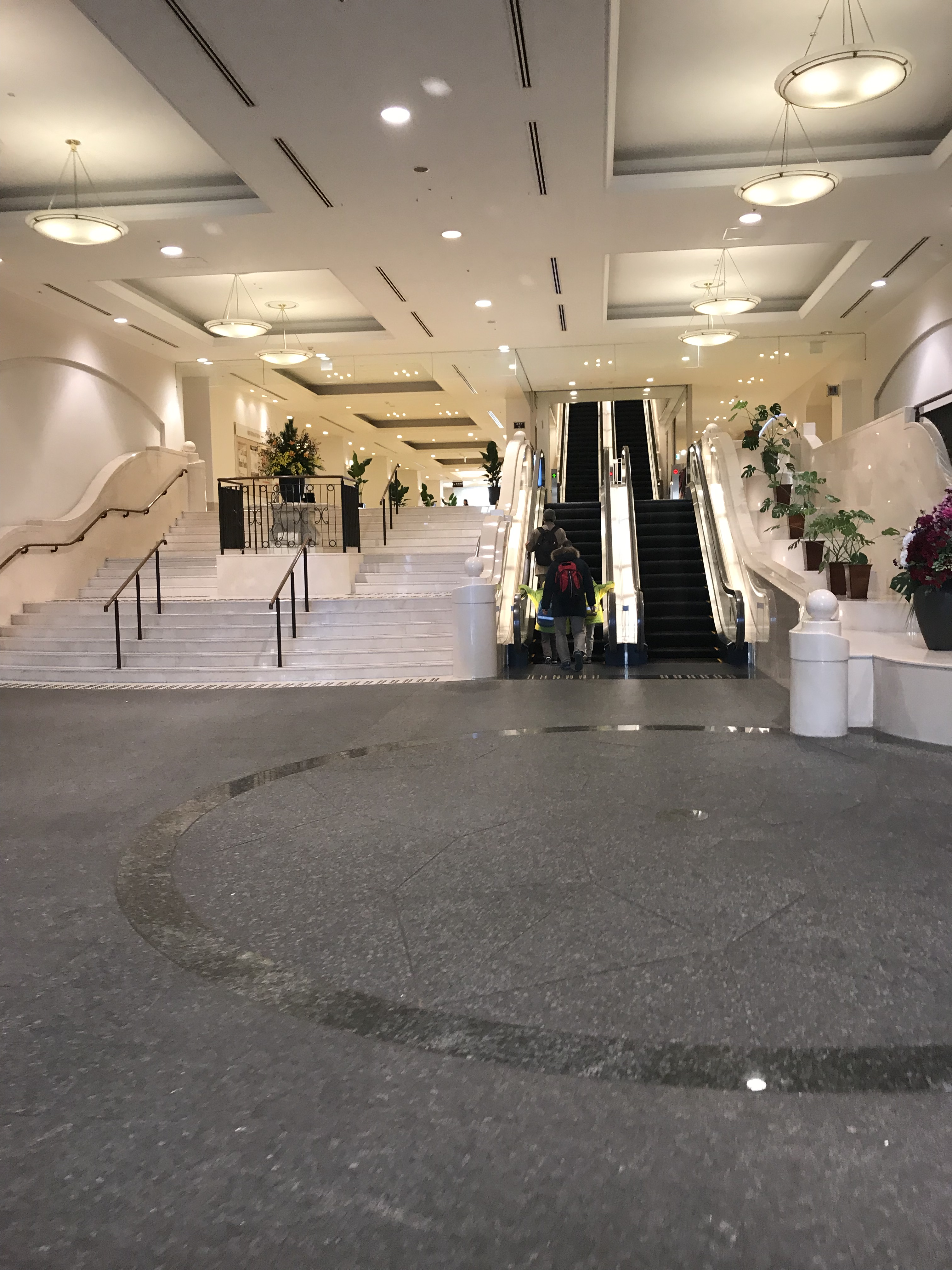シーサイドホテル舞子ビラ神戸のロビー