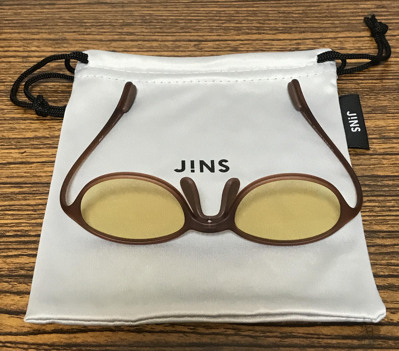 【JINS SCREEN NIGHT USE 60%cut】ナイトユース 巾着袋