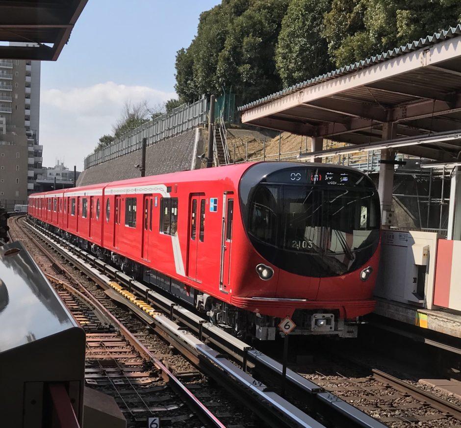 丸ノ内線 通勤電車