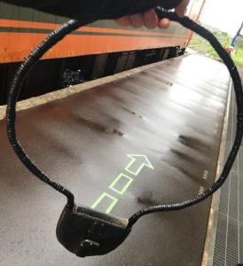津軽鉄道のタブレット