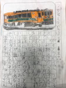 津軽鉄道の絵日記